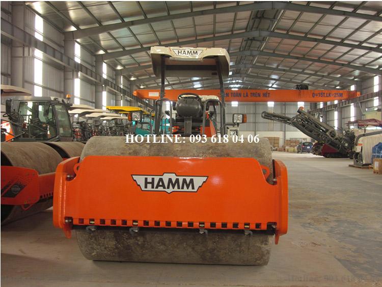 Lu rung Hamm 3414, xe lu rung Hamm một bánh thép, tự trọng 14 tấn, mới 100%, sản xuất Đức
