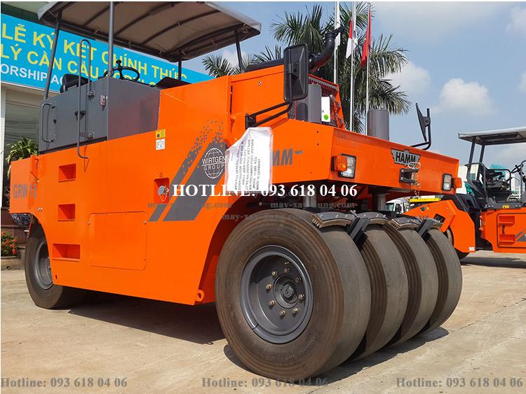 Lu Hamm GRW15, Xe lu Hamm tĩnh bánh lốp 14 - 24 tấn, mới 100%, sản xuất Đức