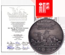 giải thưởng xe LU RUNG HAMM 3410