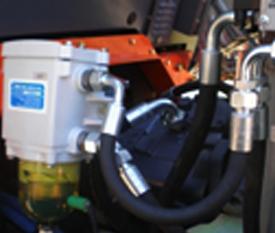 lọc tách nước xe LU RUNG HAMM 3410