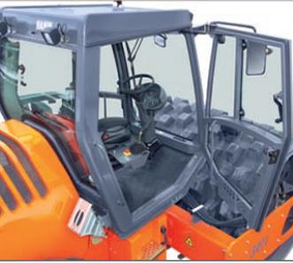 cabin máy lạnh xe LU RUNG HAMM 3410